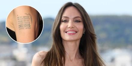 Angelina Jolie en la premier de 'Eternals' en Roma