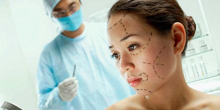 Cirugía plástica en vivo