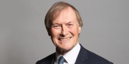 El legislador conservador británico David Amess, en una fotografía oficial.