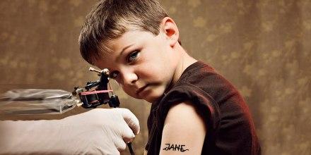 Niño tatuador