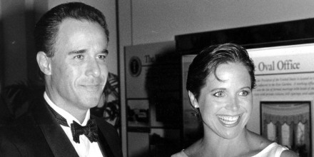 Katie Couric and her husband Jay Monahan