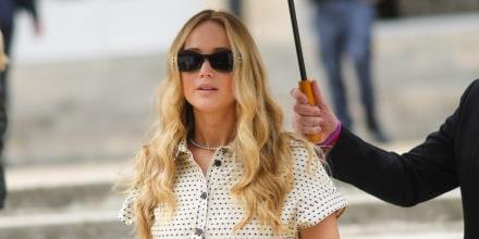 Jennifer Lawrence en la Semana de la Moda de París