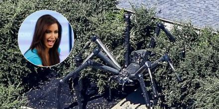 Mansión de Kim Kardashian decorada para Halloween