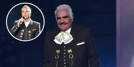Alejandro Fernández manda mensaje de amor a Vicente Fernández.