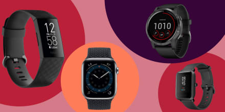 FitBit Charge 4, Apple Watch Series 6, Garmin vivoactive 4, Amazfit Bip.