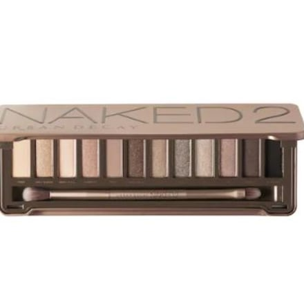 Best makeup palettes - naked 2 urban decay