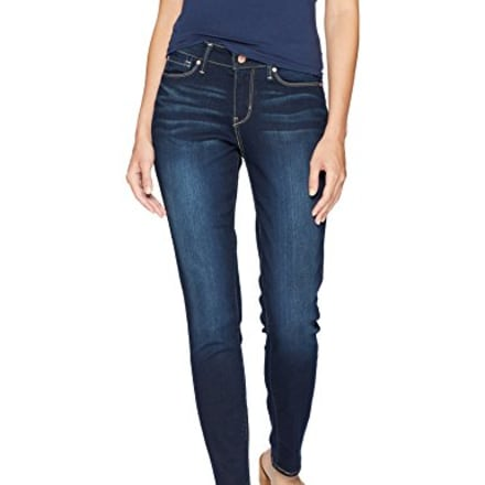 Signature by Levi Strauss & Co. Gold Label Women's Modern Skinny Jeans, Immaculate 12 Short