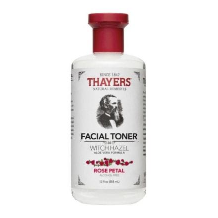 Thayers Alcohol-Free Rose Petal Witch Hazel Toner with Aloe Vera Formula-12 Oz (Facial Toner)