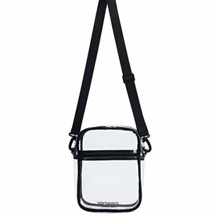Vorspack TPU Clear Bag Stadium Approved Crossbody Bag