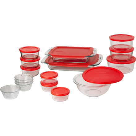 Pyrex Easy Grab 28-Piece Bake and Store Set