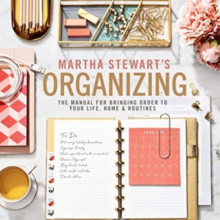 """Martha Stewart's Organizing,"" Martha Stewart"
