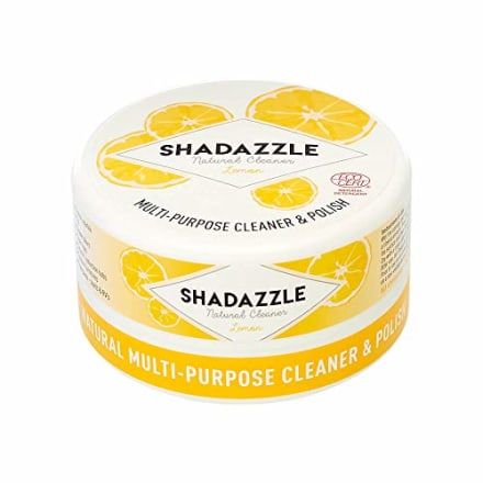 Shadazzle Natural All Purpose Cleaner and Polish - Eco friendly Multi-purpose Cleaning Product - Cleans, Polishes & Protects any washable surface (Lemon)