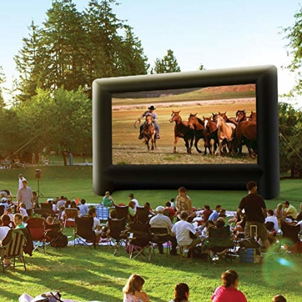 Inflatable Outdoor Movie Projector Screen
