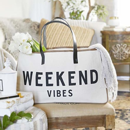 Creative Brands Weekend Vibes Hold Everything Tote