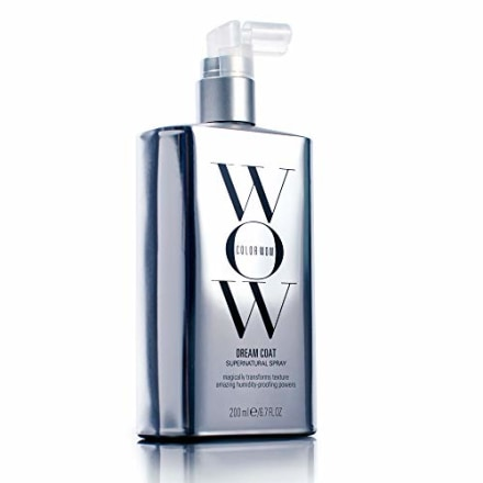 COLOR WOW Dream Coat Supernatural Spray - Humidity-Proof, Heat-Activated Anti-Frizz Hair Treatment, 6.7 Fl Oz