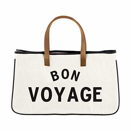 Santa Barbara Designs Bon Voyage  Canvas Tote