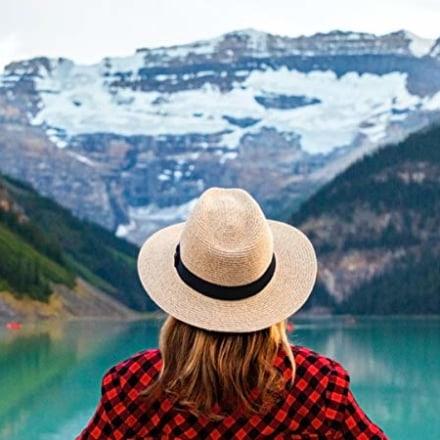 JOYEBUY Foldable Summer Straw Hat