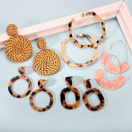 Fifata Resin Earrings
