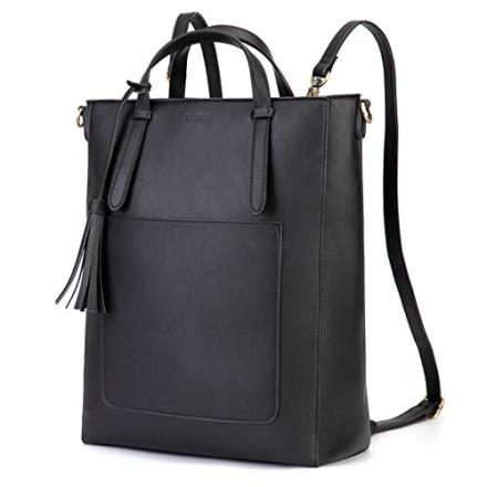 ECOSUSI Tote Bag Convertible Backpack