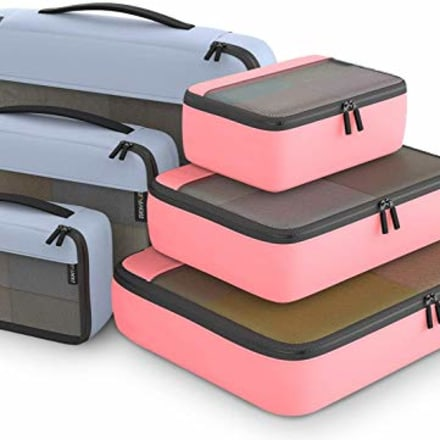 Easy Fun Packing Cubes (Set of 6)