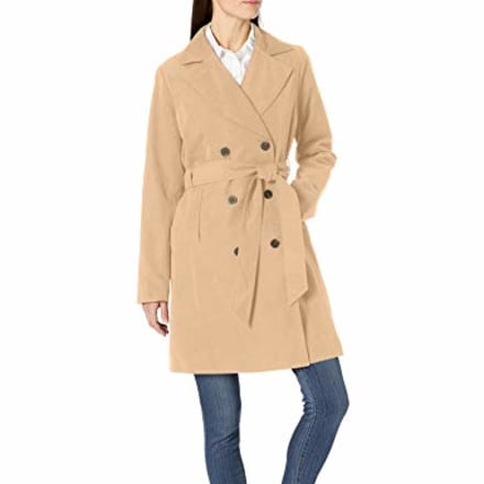 Amazon Essentials Relaxed-Fit Water-Resistant Trench Coat