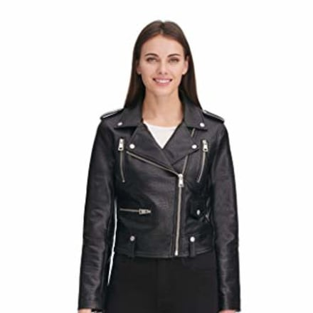 Levi's Faux Leather Contemporary Motorcycle Jacket
