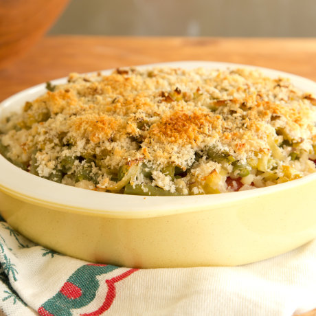 Light and Healthy Vegetable Casserole