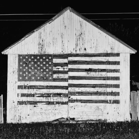 A shed in Harney County, Ore.  Harney County has a population of 7,422 and 21.1% live below the poverty level.