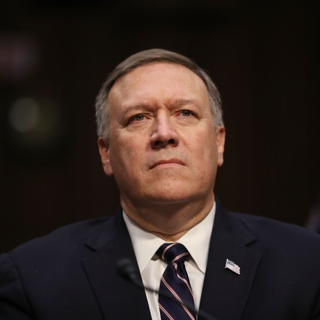 Image: Senate Committee Holds Confirmation Hearing For Rep. Mike Pompeo To Become Director Of C.I.A.