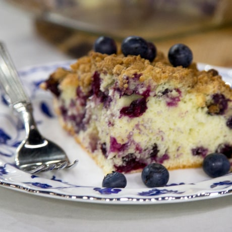 Dylan's Blueberry Buckle