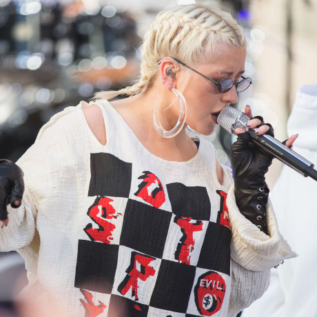 Christina Aguilera performs on TODAY