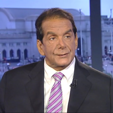 Image: Charles Krauthammer appearing on Fox News in Washington