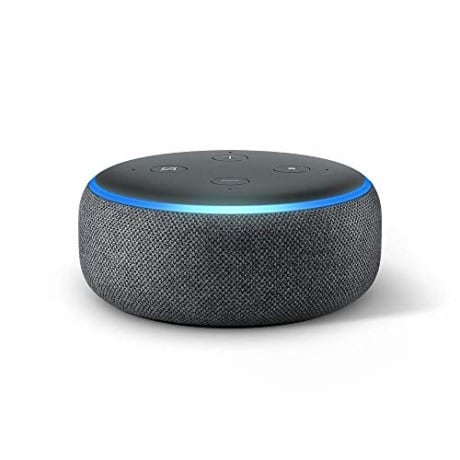 All-new Echo Dot (3rd Gen) - Smart speaker with Alexa - Charcoal (Amazon)