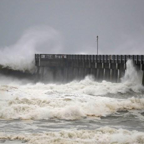 Image: Hurricane Michael Slams Into Florida's Panhandle Region