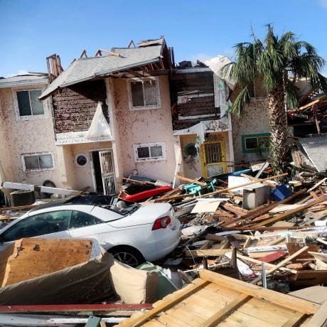 Image: Hurricane Michael Mexico Beach Florida