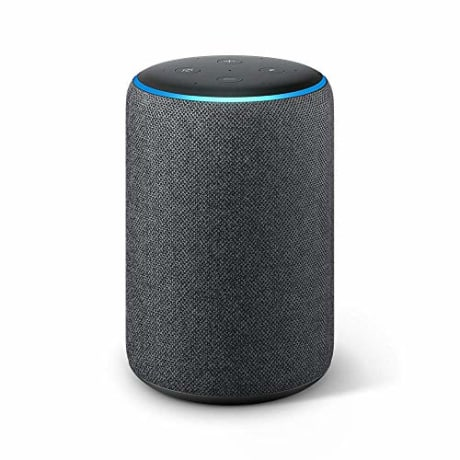 All-new Echo Plus (2nd Gen) - Premium sound with built-in smart home hub - Charcoal (Amazon)