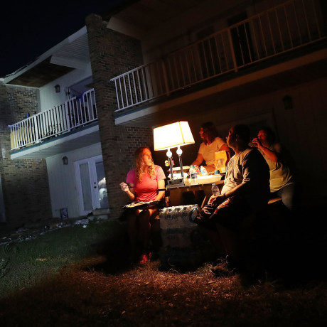 Image: Recovery Efforts Continue In Hurricane-Ravaged Florida Panhandle