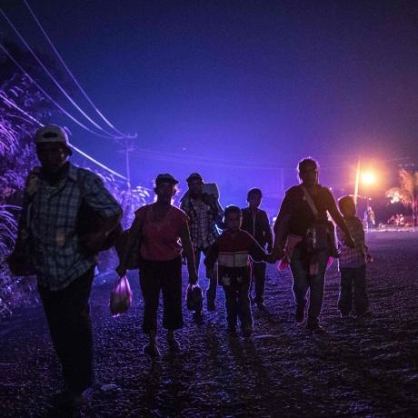 Image: TOPSHOT-MEXICO-HONDURAS-US-MIGRATION