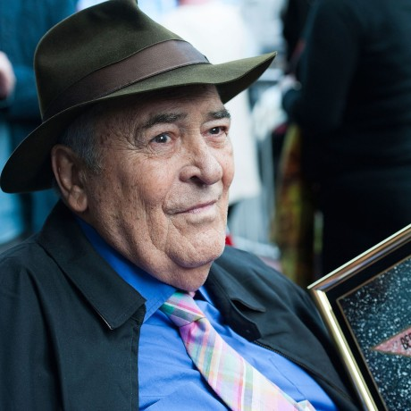 Image: Director Bernardo Bertolucci celebrates his Star on the Hollywood Walk of Fame