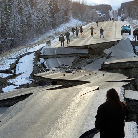 Image; Alaska Earthquake