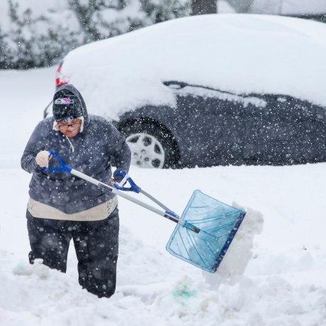 Image: Greensboro, North Carolina, snow