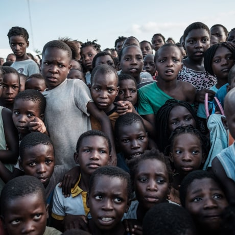 Image: TOPSHOT-MOZAMBIQUE-WEATHER-CYCLONE-HEALTH
