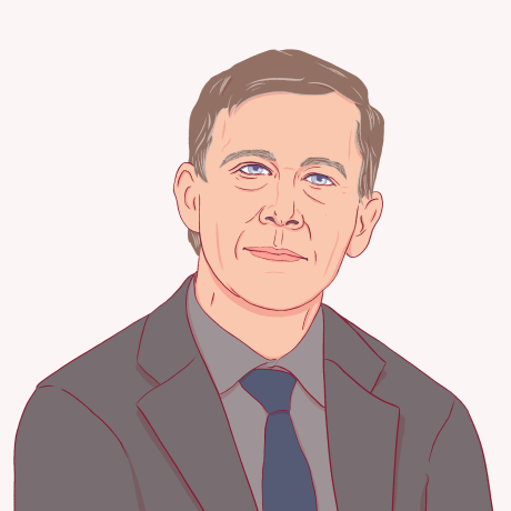 Illustration of John Hickenlooper.