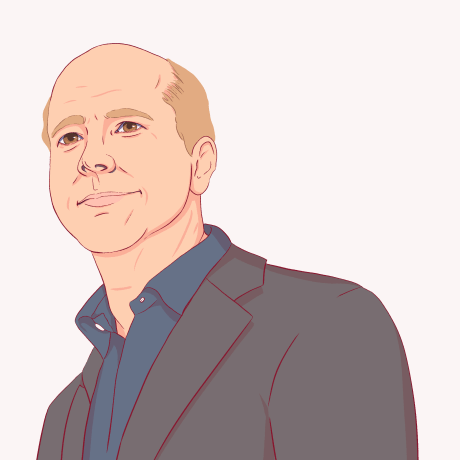 Illustration of John Delaney.