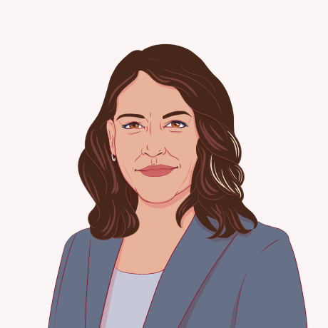 Illustration of Tulsi Gabbard