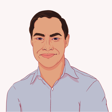 Illustration of Julian Castro.