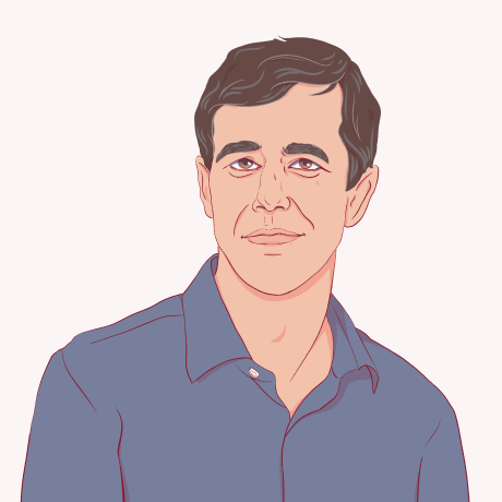 Illustration of Beto O'Rourke