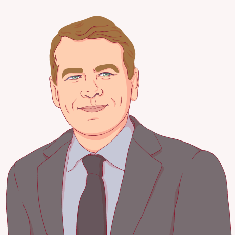 Illustration of Michael Bennet