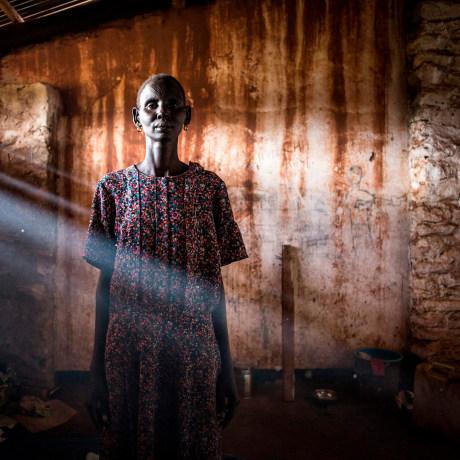 Image: TOPSHOT-DRCONGO-REFUGEE