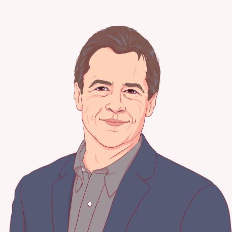 Illustration of Steve Bullock.